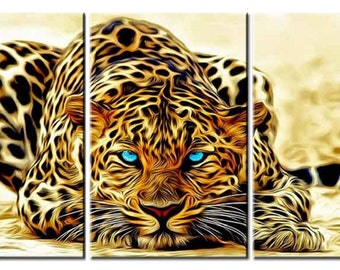 Canvas wall art canvas print jaguar