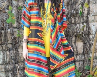 Serape Kimono