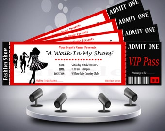 Fashion Show Ticket
