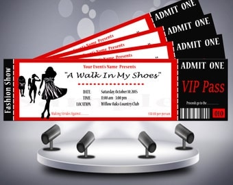 Fashion Show Ticket