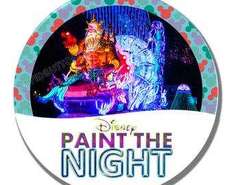 Paint the Night: The Little Mermaid Button