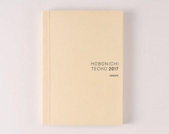 Hobonichi Techno (A5) 2017 Planner - April Start
