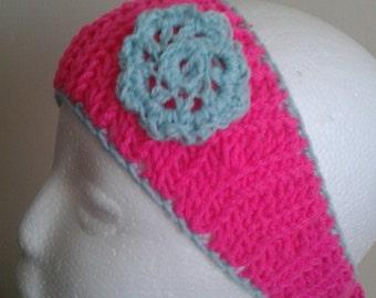 Winter crochet headband/ earwarmer