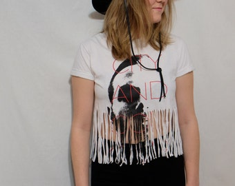 City  and Colour Cropped Fringe Concert Tee