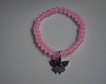 Angels watching over me bracelet