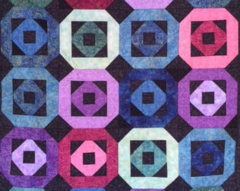 Sparkling Jewel Quilted Throw