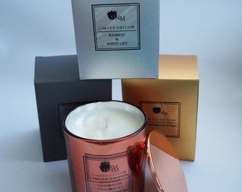 Rose Gold Limited Edition Tumbler Soy Candle