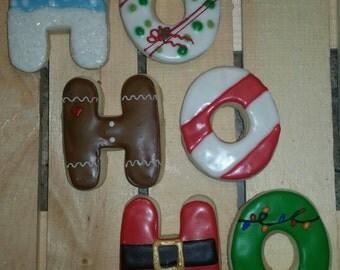 Christmas Ho, Ho, Ho cookies!
