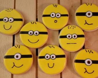 Minion cookies!
