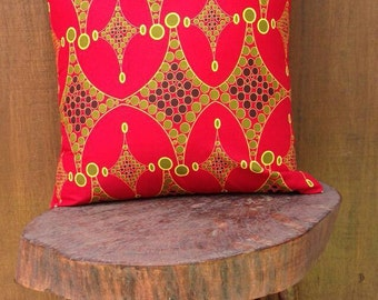 African print pillow cover/ ankara pillow /
