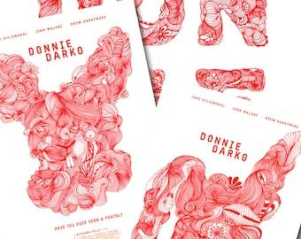 Donnie Darko - Set of 3 Graphic Prints - 3 x A4