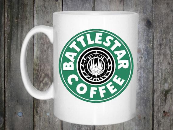 Battlestar Starbucks Coffee