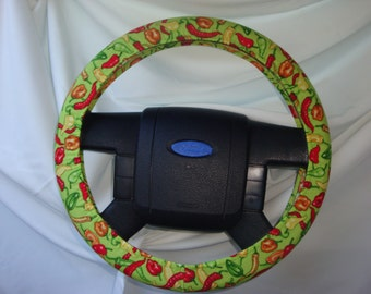 "Stering Wheel Cover-15""-16""-Cotton 100%."