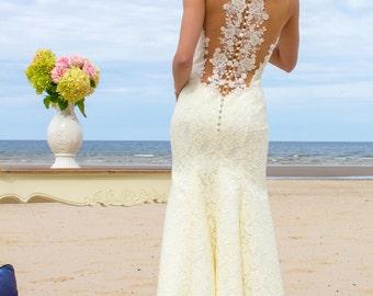 Art Deco Great Gatsby wedding dresses, rustic, vintage, glamorous,beach styles 2016. MERMAID lace wedding dress !