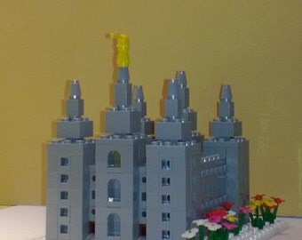 PDF: LEGO® Salt Lake LDS Temple - Instructions Only