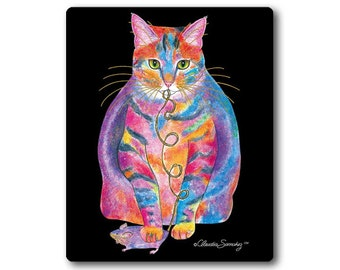 Tabby Fat Cat Mousepad