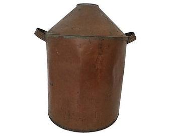 Antique Copper Boiler, Antique Copper Still