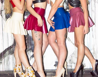 Latex Skater Skirt - Made to Order
