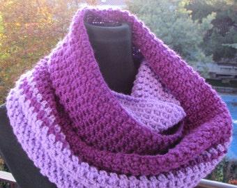 Circular scarf crochet