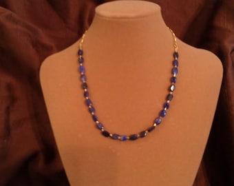 Lapis stone necklace