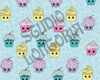 Cupcake Cuties 1/2 yd