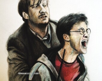 Harry Potter and Remus Lupin