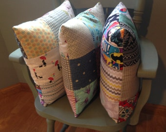 Patchwork Pillows made to order