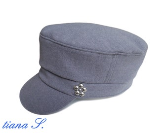 Grey Hat / CAP, rivets, size M