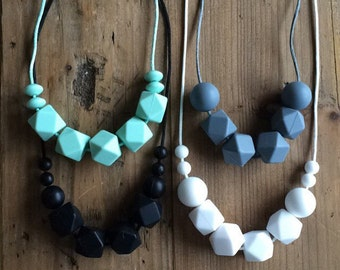 N E U T R A L S - Teething Necklace