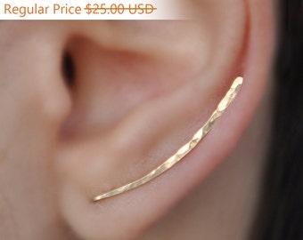 NEW YEARS SALE - Ear Climbers x2, Earring Pins, Earring Climbers, Ear Pins, 耳のクライマーのイヤリング, Climber Earrings, Ear Crawlers, Earrings Pin