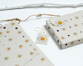 Daisy Gift Wrapping Paper