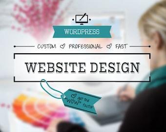 CUSTOM WEBSITE DESIGN Service: Website Designer, Website Development Services, Web Design, WordPress, Blog