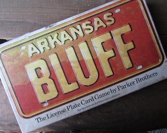 Arkansas Bluff Vintage Card Game