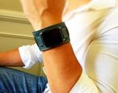 Apple Watch Band, Navy Blue Apple Watch Leather Band, Apple Watch Cuff, Blue Apple Watch Strap, Apple Watch Sport Band, Boyfriend Gift !!!