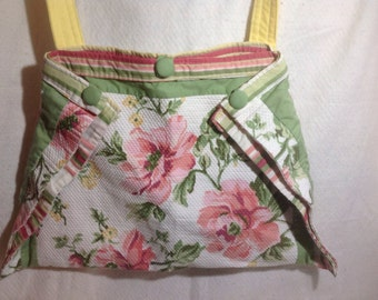 Vintage fabric upcycled