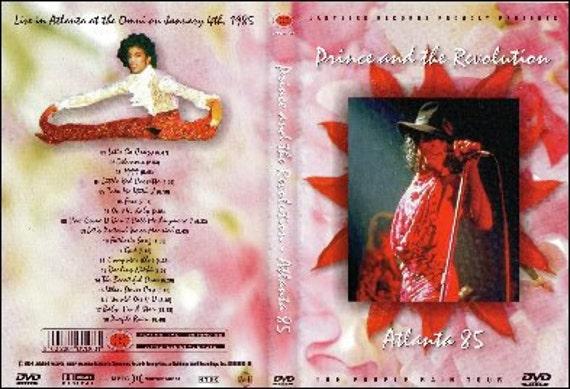 Prince Purple Rain Tour Live In Atlanta 1/04/85 Very Rare DVD