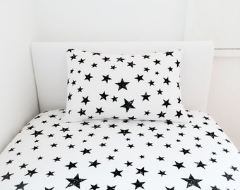 Stars Pillow Cover, Nursery Pillow Cover, Stars, Kids Bedding, Bedding for Boy, Pillow for Boy