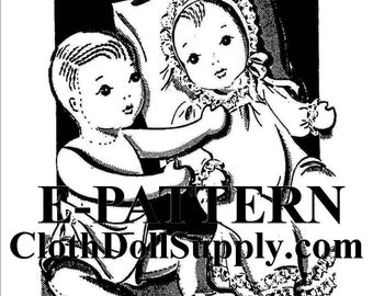E-Pattern – Alice Brooks Baby Doll Sewing Pattern #EP 6830