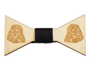 Lord Vader Wooden Bow Tie Men Women Bowtie FREE WORLDWIDE SHIPPING