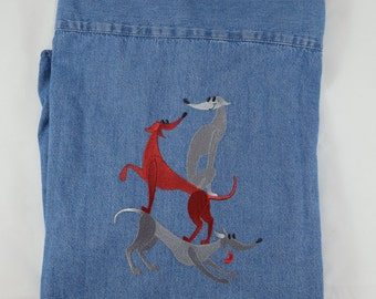 Three Greyhounds - Back Design