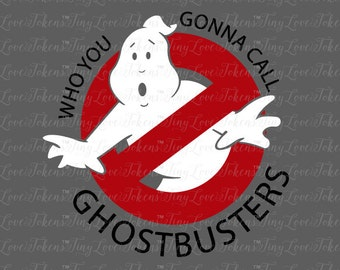 Ghostbusters Design for Silhouette and other craft cutters (.svg/.dxf/.eps/.pdf)