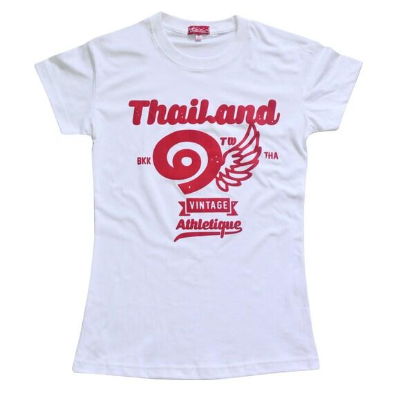 TepThaiTewa : Thailand ๑ Vintage Athletique Women's T-Shirt