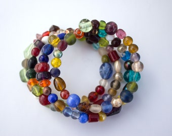 Multi-Color Wrap Bracelet
