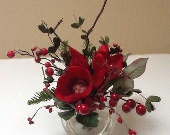 Festive Artificial Flower Arrangement