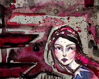 Brave Girl (print)