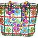 DineshaliniHandmade Ethnic Handbags, Woman Handbag, Canvas Bag, Hobo Bag, Beach Bag, Shopping Bag