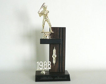 1988 Softball/Baseball Trophy