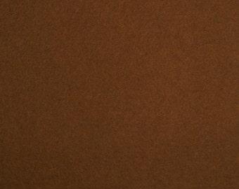 1mm Wool Felt - Brown