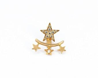 Star cluster earring
