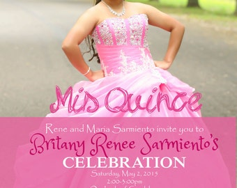 Mis Quince Invitation